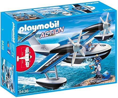 Playmobil- Hidroavión de Policía Juguete