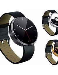 DM360Wearables reloj inteligente, bluetooth4.0/manos libres llamadas/control de la cámara/monitor de frecuencia cardíaca/actividad