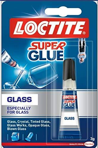 LOCTITE Glaskleber, 3 g, Sekundenkleber, Metall, super klar, wasserfest