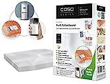 CASO Profi- Folienbeutel 20x30cm (1219) / 50 Beutel mit Etiketten für alle Balken Vakuumierer geeignet / Kochfest - Mik