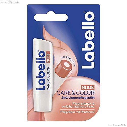 Labello Colour & Shine Care & Color Nude Stick 4,8g