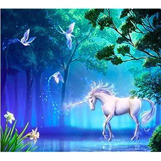 amazing sticker unicorn mural 240cm x 215cm (WxH)