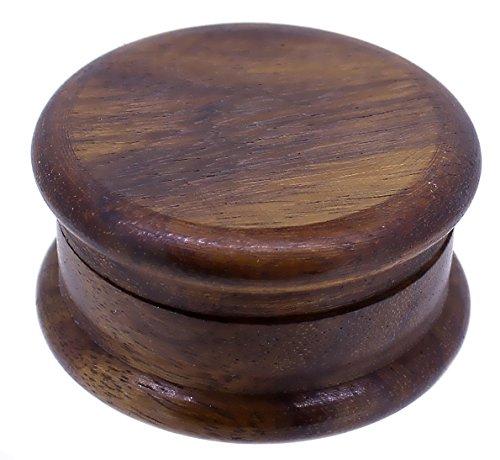 Budawi® - Holz Nagel-Grinder (Kräutermühle) Ø 50mm, Crusher Holz Gewürzmühle