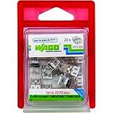 Wago WAG2273/202BL20 Pack de 20 bornes 2273 20 x 2 entrées