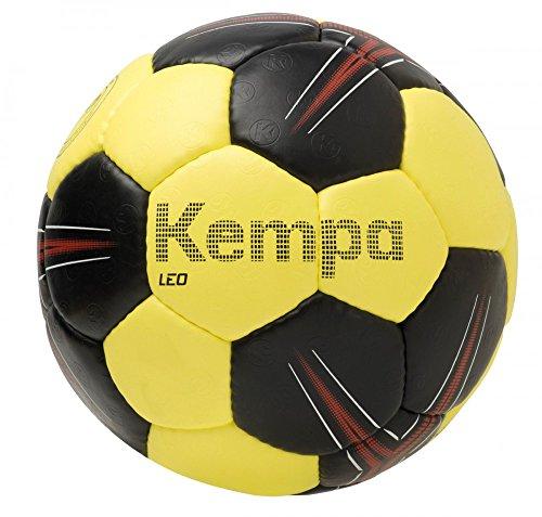 Kempa Leo BASIC Profile palloni, schwarz/limonengelb/rot, 2
