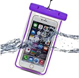 PHONILLICO Sac Waterproof Violet pour Sony Xperia - Coque Housse Etui Universel...