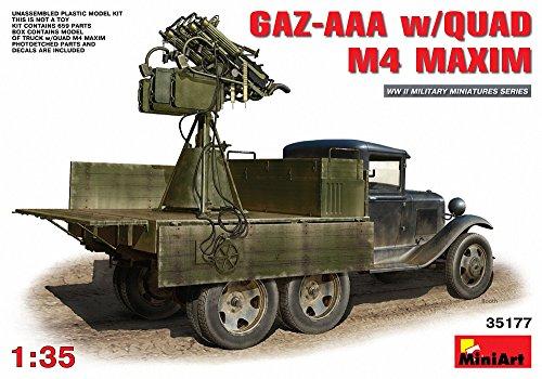 Unbekannt MiniArt 35177 - Modellbausatz GAZ-AAA s/Quad M-4 Maxim -