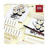 Euroweb Backformen für Sushi aus Kunststoff in Lebensmittelqualität–1Japanische