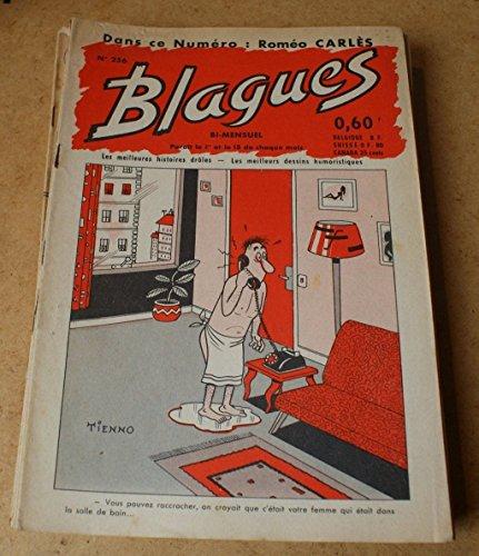 Blagues n° 256 - dans ce numéro Roméo Carlès
