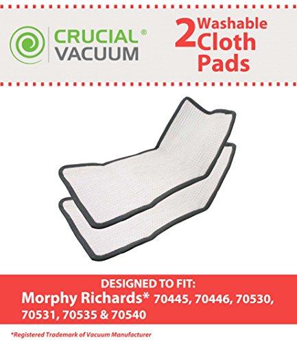 2 Morphy Richards &Wischmopp, Waschbar, Wiederverwendbar, Für 70445, 70446, 70530, 70531 Honsel, 70535 &70540, Im Vergleich zu Modell #35102 &Design, Entworfen von Crucial Vacuum