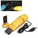 Mini Staubsauger für Laptop mit USB-Anschluss Tastatur Vakuum Sweeper/entlüfters Staub Catcher Staub Collector (zufällige Farbe)