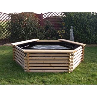 GARDEN POOL 300 GALLON & LINER – FISH POND/TANK 51JhA5BTBeL
