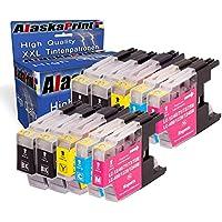 Premium Set di 10 cartucce di inchiostro compatibile con Brother LC 1220 LC 1240 LC 1280 XL (nero , Cyan , Magenta , Yellow) 10xLC-1220-Brother