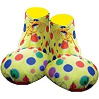 Adult Blue Clown Shoe Covers By Dress Up America