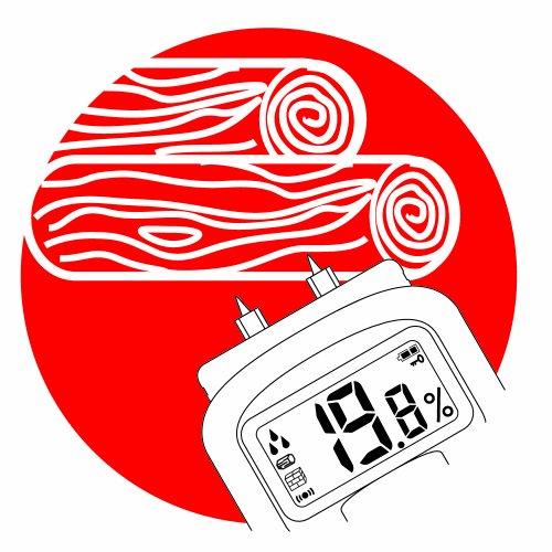 Brennenstuhl Feuchtigkeits-Detector MD, 1298680 Feuchtigkeitsmesser Feuchtigkeitsbestimmung von Holz