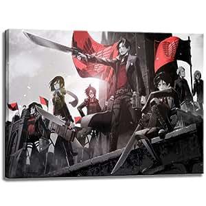 Anime / Manga huile d'image sur la toile, taille: 60x40 cm. Art impression de haute qualité comme une fresque. Moins cher qu'une peinture à l'huile! ATTENTION NO affiche!