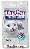 Perfecto Cat 2434 Katzenstreu TopCat Hygiene White Ultra Compact, 12 liter