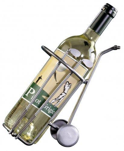 'Superbe Idée Cadeau Golf | Support pour Bouteille de vin GOLFBAG | handgefertige Uniques en métal