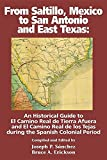 From Saltillo, Mexico to San Antonio and East Texas by Joseph P Sanchez (2016-04-26)