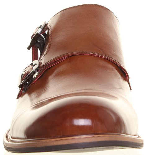 Reece Justin Ricardo mat Chaussures en cuir pour homme Marron - Brown AV
