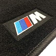 Logo Velours Autoteppiche Fußmatten für BMW E36 Limousine ab Bj.1990-1998