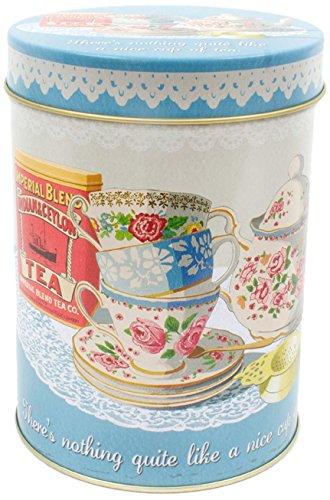 Martin Wiscombe Nice Tasse de thé Store Boîte, Couleurs Assorties