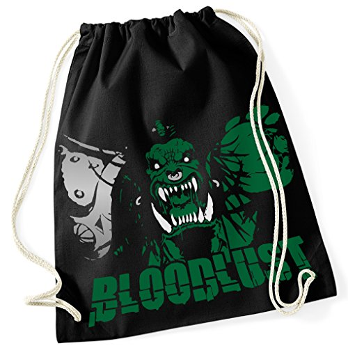 evil-orc-ork-blood-lust-100-cotton-gym-bag-with-printed-design-and-single-size-one-size-unisex-black