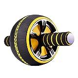 WINOMO Ab Roller Bauchmuskelübungsrad Bauchmuskel Fitness Roller mit Kniepolster