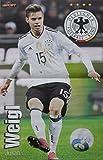 Poster Nationalspieler der Deutschen Fußball-Nationalmannschaft DIN A3 WM Weltmeister Stars Helden Deutschland Germany Fan DFB Team Foto (13. Julian Weigl)