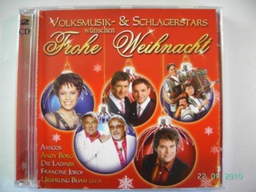 Volksmusik-und Schlagerstars wünschen Frohe Weihnacht ( Doppel-CD) Alpine Marine Audio