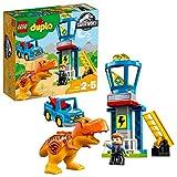 LEGO DUPLO - Jurassic World Torre del T. Rex, Juguete Preescolar de Dinosaurio con Muñeco de Owen y...