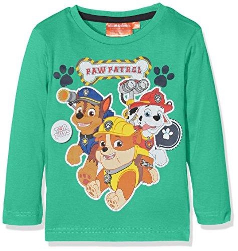 nickelodeon-paw-patrol-t-shirt-garcon-vert-vert-vert-menthe-poivree-3-ans