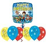 Libetui 'Paw Patrol' Geburtstag Fellfreunde Luftballons Dekoration Set Happy Birthday Deko-Luftballon Balloons