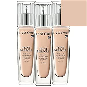 Teint Miracle Bare skin foundation SPF15 010 Beige Porcelaine 30ml: Amazon.co.uk: Beauty