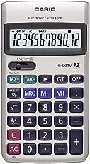 Casio HL-122TV Portable Calculator (Silver)