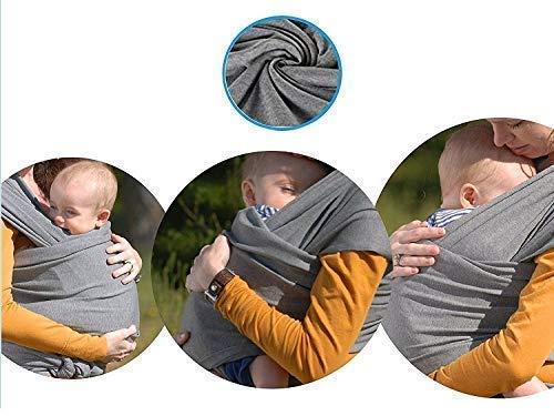 Babytragetuch | elastisches Tragetuch Baby Carrier | Tragetücher für Männer und Frauen | Babytragen babytuch | Halten Sie Ihr Baby am Herzen liegt | 100% GARANTIE und KOSTENLOSE LIEFERUNG - 3