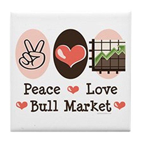 cafepress-peace-love-bull-market-tile-coaster-drink-coaster-small-trivet