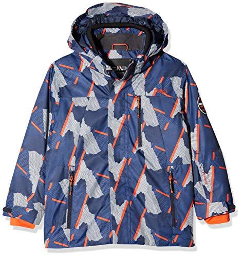 CMP Jungen Skijacke Jacke, B.Blue-Orange, 164