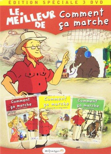Bild von Coffret comment ca marche? : à toute vapeur ; mammouth au long cours ; en voiture [FR Import]