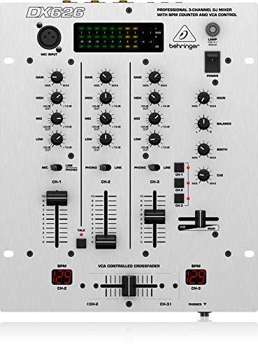 Behringer PRO MIXER DX626 3-Kanal DJ Mixer