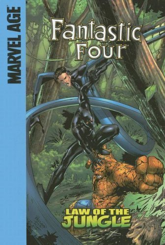 Law of the Jungle (Fantastic Four Set II) by Parker, Jeff (2007) Library Binding