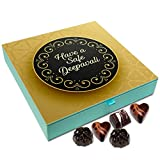 Chocholik Diwali Sweets - Have A Safe Deepawali Chocolate Box - 9pc
