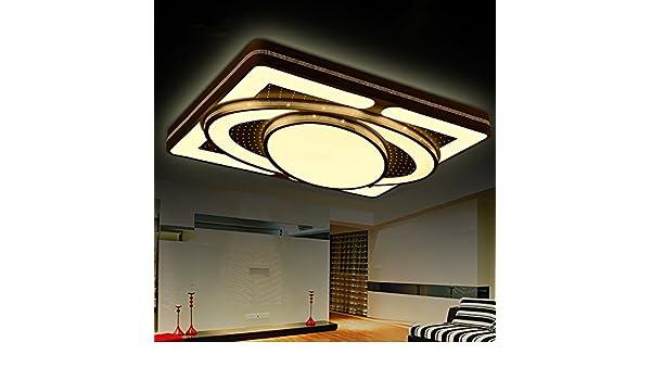 Led rechteckigen wohnzimmer lampe moderne minimalistische