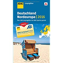 ADAC Campingführer Deutschland und Nordeuropa 2016: mit herausnehmbarer Planungskarte