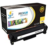 CatchSupplies reemplazo CE412A Cartucho de tóner amarillo para la serie HP 305A | 2.600 rendimiento | compatible con el Pro 300 color de HP LaserJet M351a, MFP M375nw, HP LaserJet Pro 400 Color M451, M475 MFP