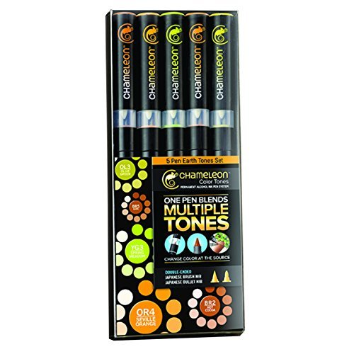 Preisvergleich Produktbild Set Earth Tones Set Chameleon - 5 Stifte