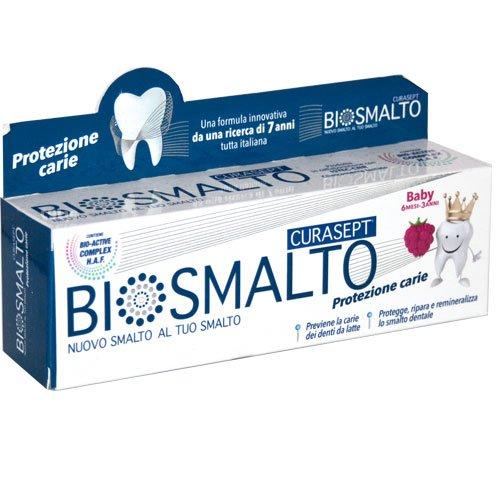 Curasept Biosmalto dentifricio baby 30ml