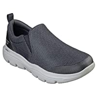 SKECHERS Go Walk Evolution Ultra, Men's Shoes, Grey (Charcoal CHAR), 7.5 UK (42 EU)