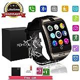 Reloj Inteligente, Smartwatch con SIM/TF Ranura Cámara Reproductor de música Fitness Tracker...