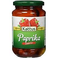 Kattus Rote Paprika geschält, 4er Pack (4 x 340 g)